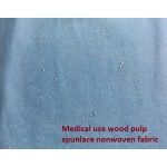 Wood Pulp Spunlace Nonwoven Fabric En13795 Medical Use